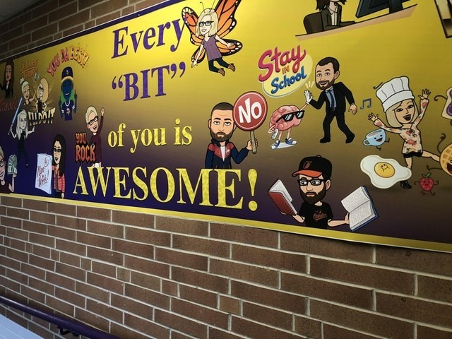 """Wall - Every Dircier """"BIT"""" Stay School NO of you is AWESOME!"""