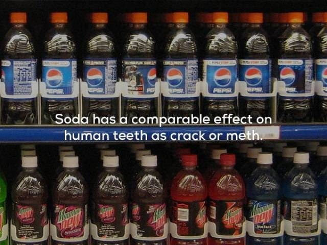 Bottle - EPSI PEPSI Soda has a comparable effect on human teeth as crack or meth Mibwnd