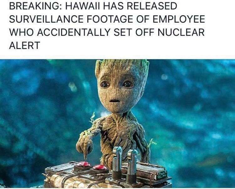 Adaptation - BREAKING: HAWAII HAS RELEASED SURVEILLANCE FOOTAGE OF EMPLOYEE WHO ACCIDENTALLY SET OFF NUCLEAR ALERT