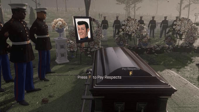 wholesome meme about Stefan Karl Stefansson and to press F to pay respects to him