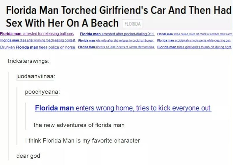 florida man torched girlfriends car and then had sex with her on the beach