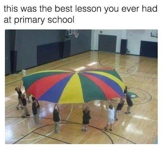 Games - this was the best lesson you ever had at primary school
