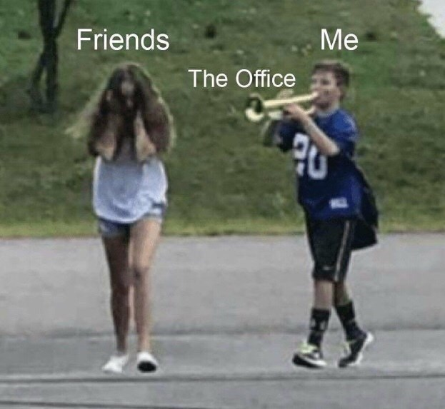 Sports - Me Friends The Office