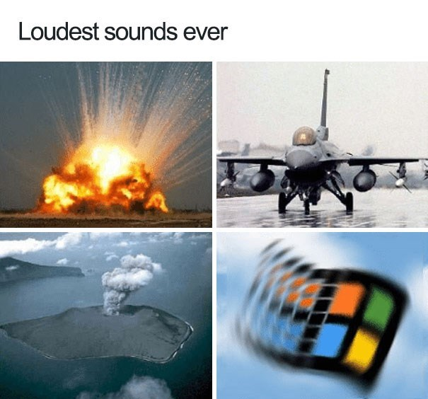 Technology - Loudest sounds ever