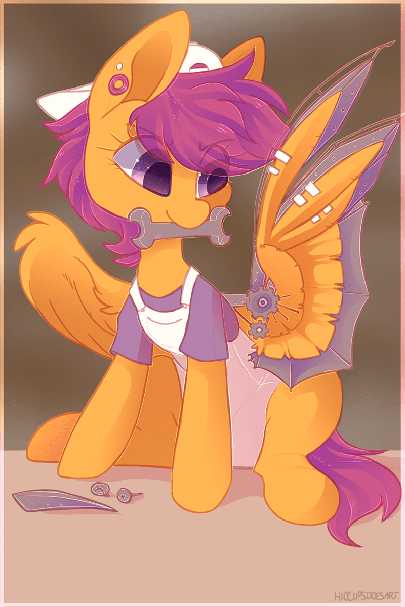 hiccups Scootaloo - 9206893568