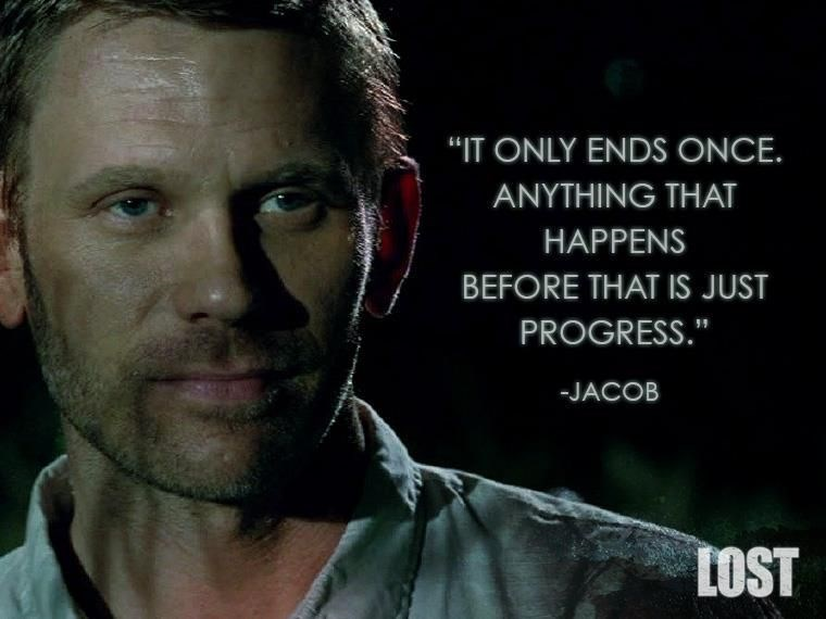 """Nose - """"IT ONLY ENDS ONCE. ANYTHING THAT HAPPENS BEFORE THAT IS JUST PROGRESS. JACOB LOST"""