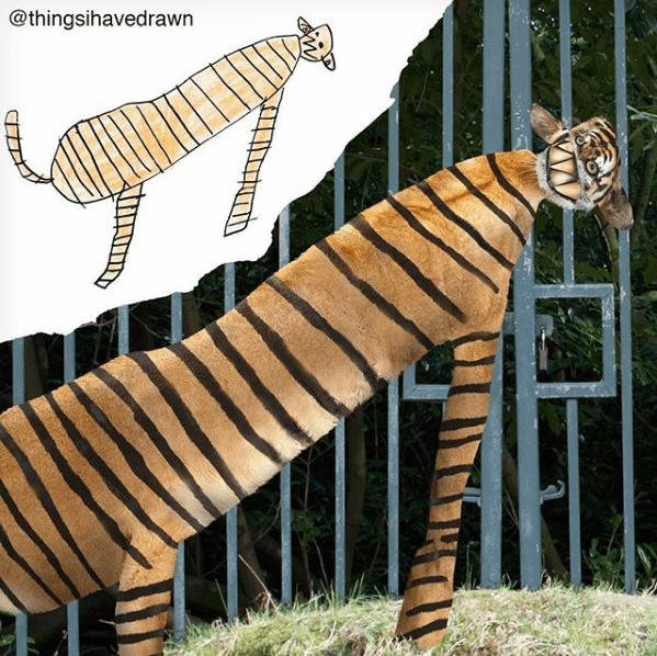 Terrestrial animal - @thingsihavedrawn
