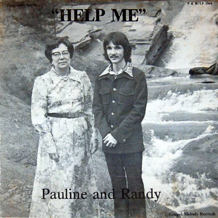 Album cover - P&RLP 100 HELP ME Pauline and Randy Gospel Melody Records
