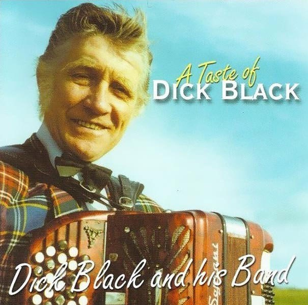 Album cover - ATaste of DICK BLACK DieBlack and hie Band