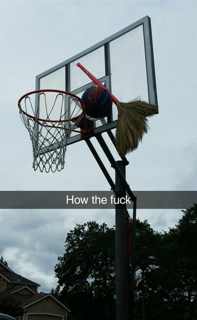 Basketball hoop - NG How the fuck