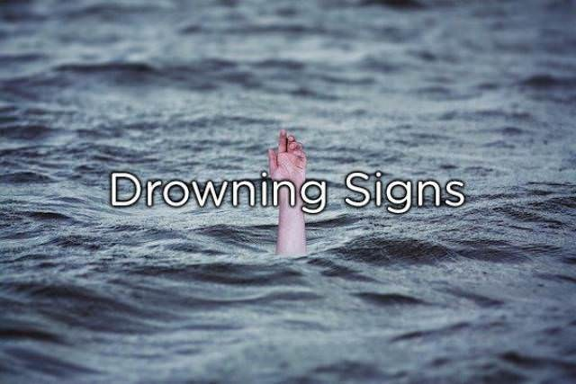 Water - Drowning Stgns