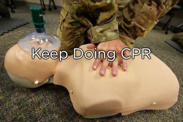 Leg - Keep Doing CPR