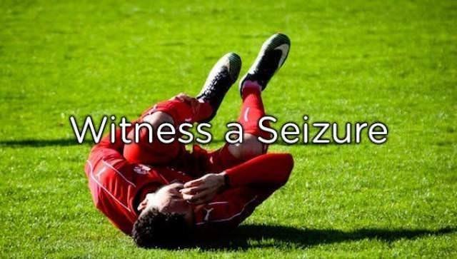 Grass - Witness a Seizure