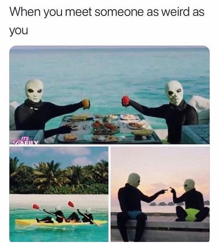 Boating - When you meet someone as weird as you ITS LENNAY
