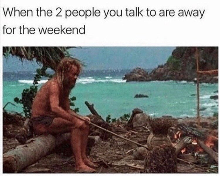 Adaptation - When the 2 people you talk to are away for the weekend
