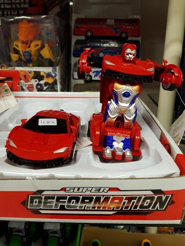 Toy - TA L4.8CE SUPER DEFORMANON