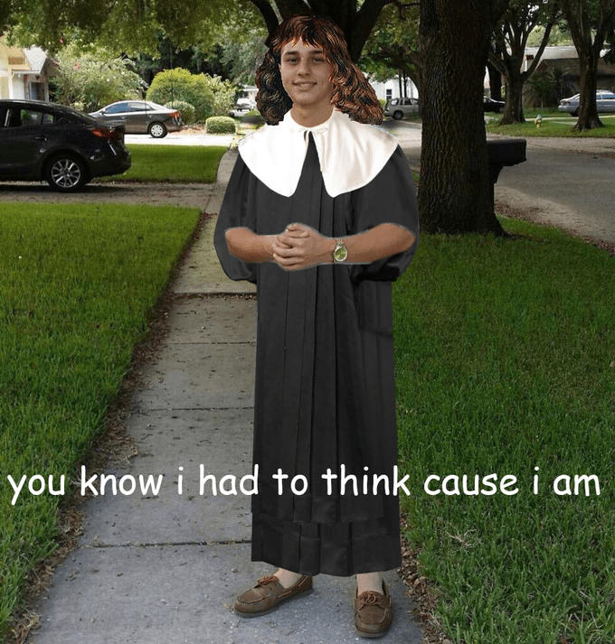 You know I had to do it to em meme with Descartes