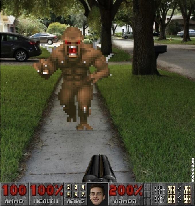 You know I had to do it to em meme if it was part of Doom