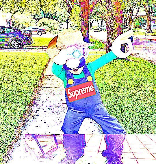 You know I had to do it to em meme with cursed image of Luigi