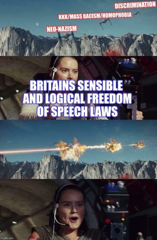 Movie - DISCRIMINATION KKK/MASS RACISM/HOMOPHOBIA NEO-NAZISM BRITAINS SENSIBLE AND LOGICAL FREEDOM OF SPEECH LAWS imgflip.com