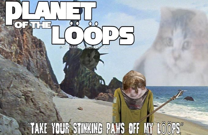 Adventure game - PLANET OF THE SOULLESSCHekENSOUP TAKE YOUR STINKING PAWS OFF MY LOOPS