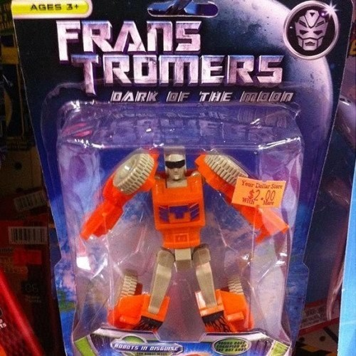 Action figure - AGES 3+ FRANS TROMERS DARK OF THE Intalo n Your Delar Sere $2.00 wih RDBGTS n BISGUISE
