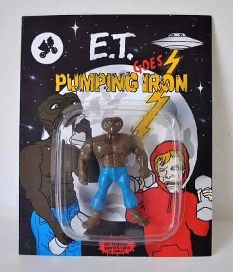 Action figure - E.T. GOES PlUMPING TRON KA1SAGE