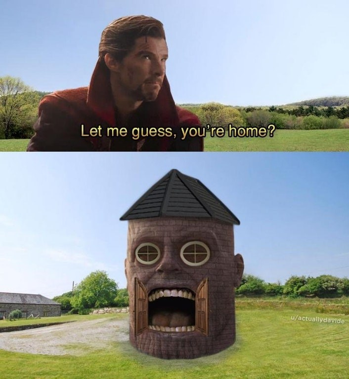 dank meme - Sculpture - Let me guess, you're home? u/actuallydavide