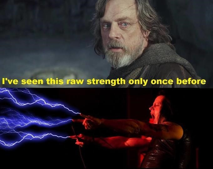 Human - I've seen this raw strength only once before