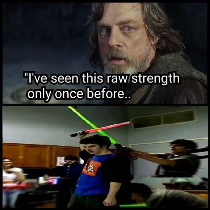 "Photo caption - ""I've seen this raw strength only once before."