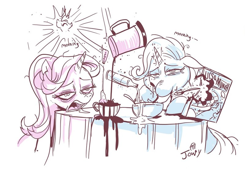 the great and powerful trixie starlight glimmer princess celestia jowy bean - 9211482880