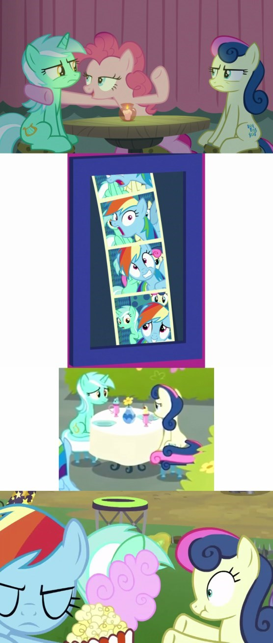 shipping the maud couple grannies gone wild the washouts screencap the end in friend lyra heartstrings pinkie pie comic bon bon rainbow dash - 9212179712