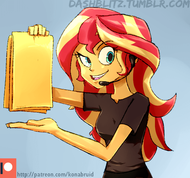 equestria girls manic the lad Vince Offer Shamwow ponify sunset shimmer - 9212715520