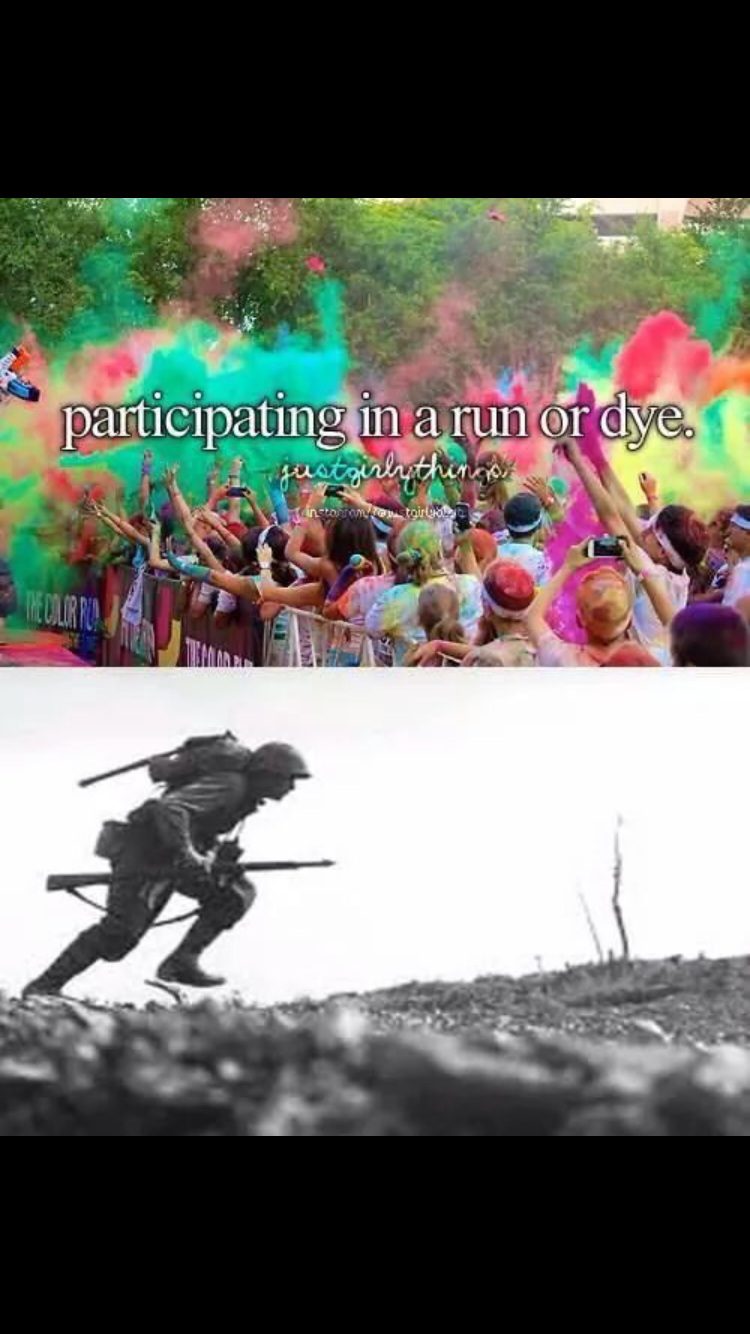 Font - partieipating in a run or dye. ustgulythings instorwyotoir b THECOLUR RIA