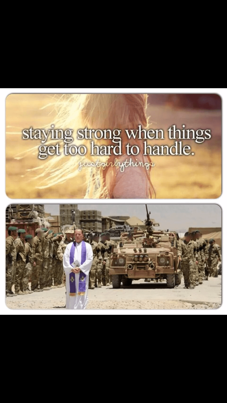 Font - staying strong when things get too hard to handle. Heerigalagthings