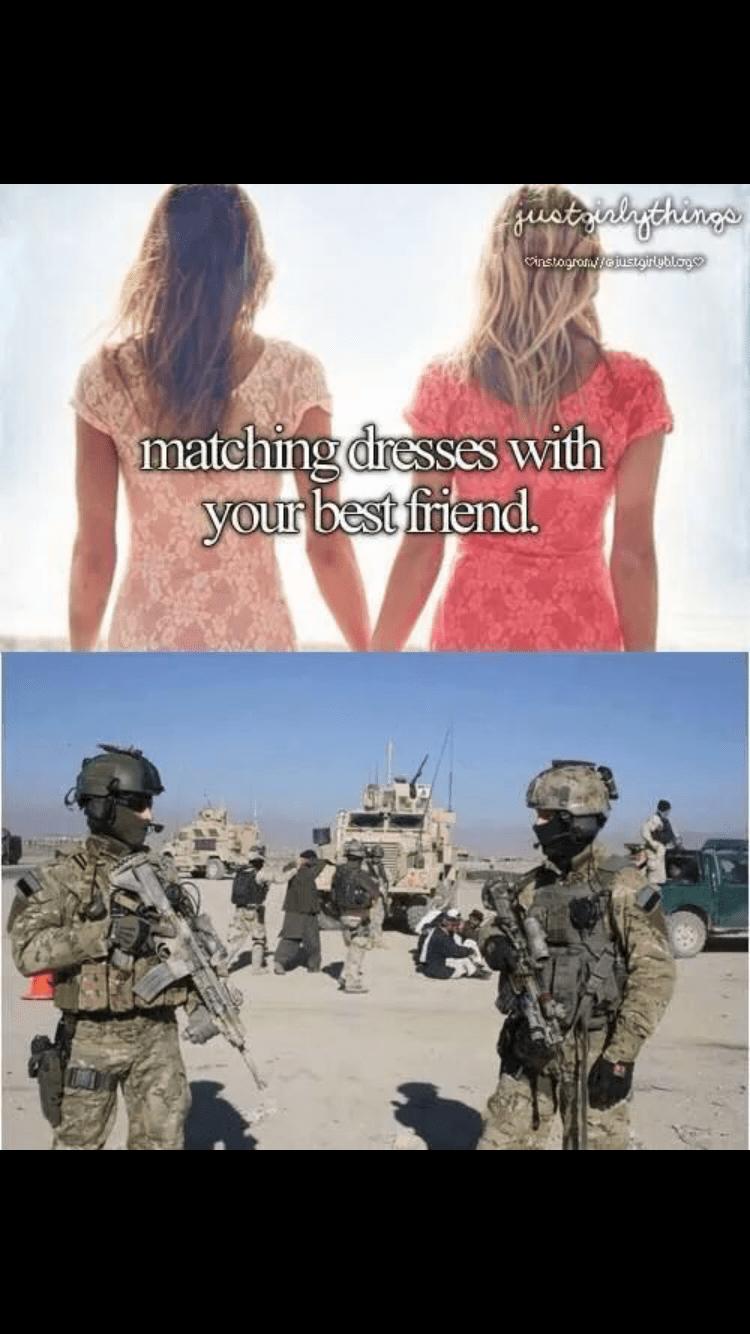 Soldier - ustrialgchinge cinstagramy oustgirgblog matching dresses with your best friend.