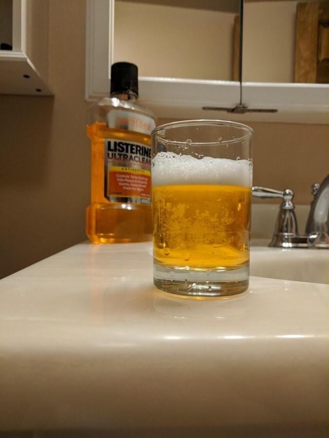 Drink - LISTERINE ULTRACLEA ANTISEPE