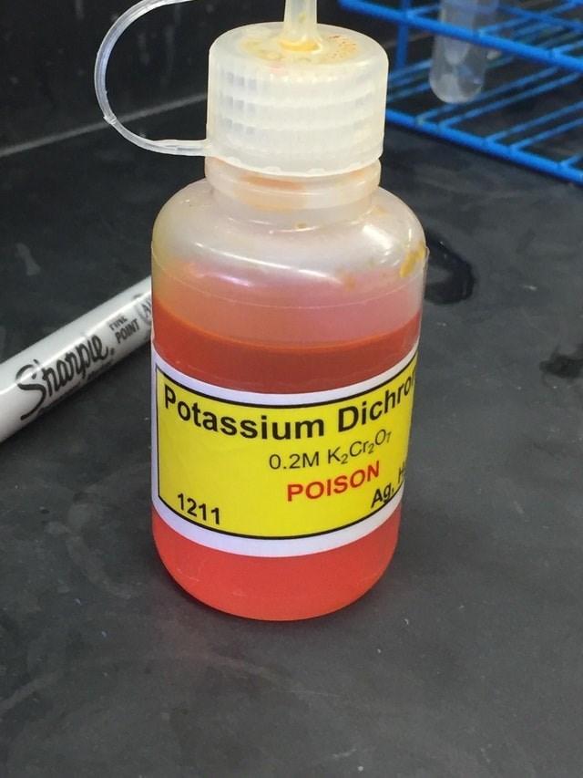 Product - Spepe Potassium Dichre POINT 0.2M K2CrOr POISON 1211 Ag
