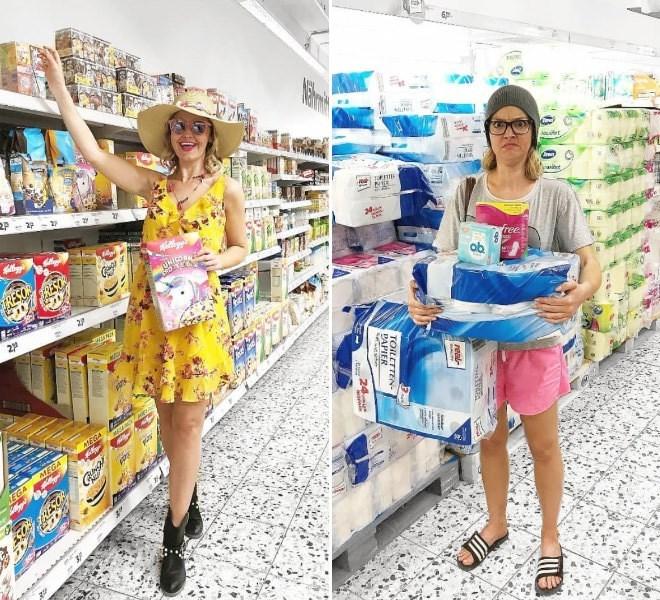 Supermarket - 2P 22 2 229 MEG A MEG 99 real- TOILETTEN PAPIER 24