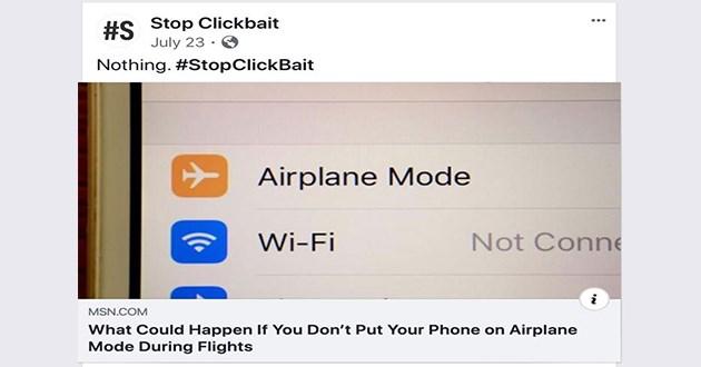 stop clickbait facebook funny
