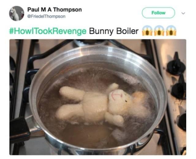 Food - Paul MA Thompson OFriedelThompson Follow #HowlTookRevenge Bunny Boiler 0