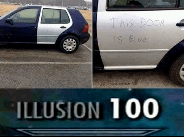 Funny gaming meme, car.