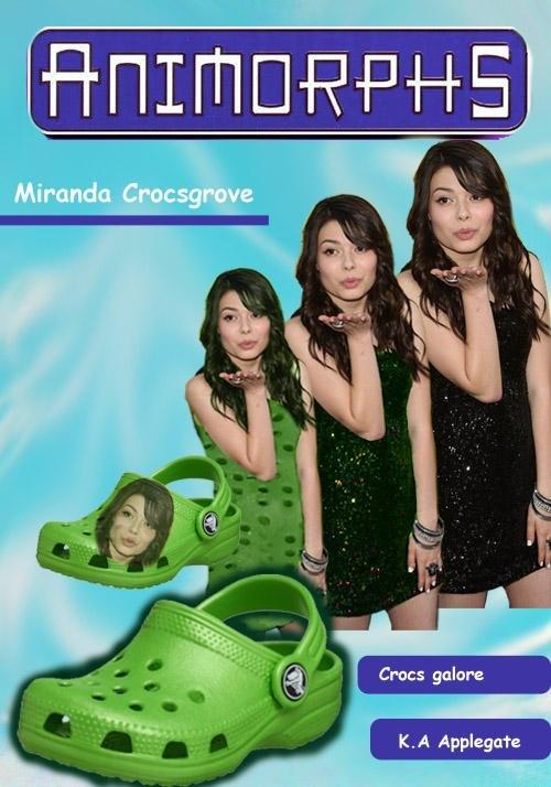 Poster - ANIMORPHS Miranda Crocsgrove Crocs galore K.A Applegate