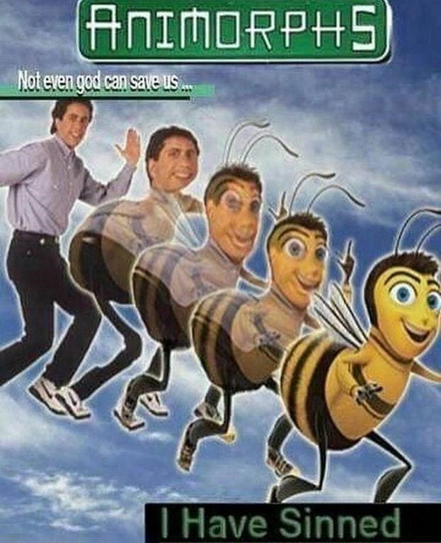 Animated cartoon - ANIMORPHS Not even god can save us.. I Have Sinned