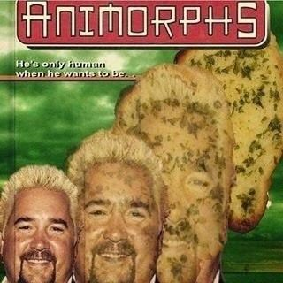 Album cover - ANIMORPHS He's only humun when he wants to Be