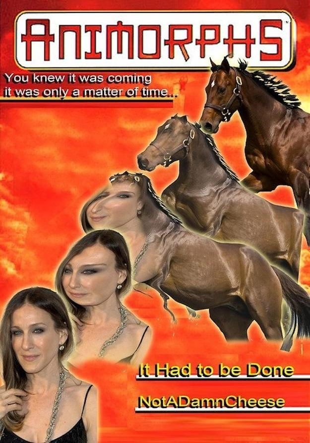 Horse - ANIMORPHS You knew it was coming it was only a matter of time.. t Had to be Done NotADamnCheese