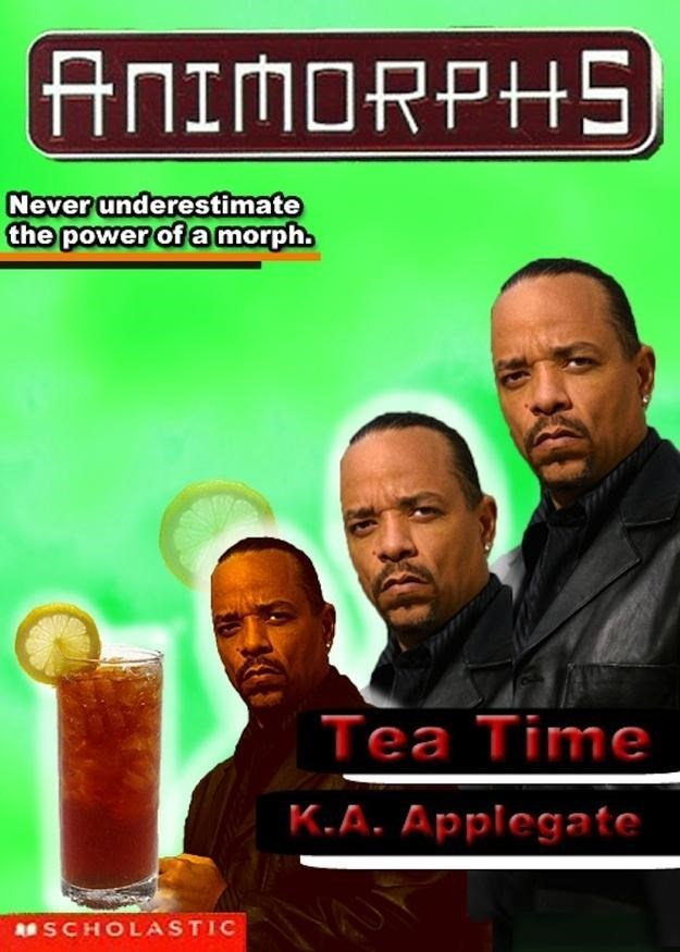 Movie - ANIMORPHS Never underestimate the power of a morph. Tea Time K.A. Applegate SCHOLASTIC
