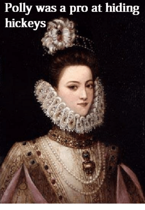 Lady - Polly was a pro at hiding hickeys