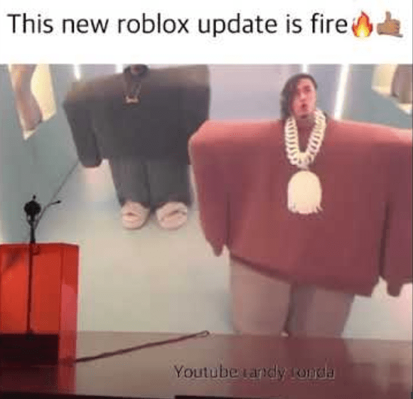 Fashion - This new roblox update is fire Youtube tandy ronda