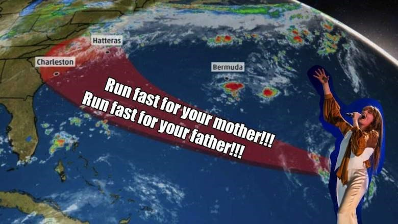 hurricane florence - World - Hatteras Bermuda Charleston Run fast for your mother!!! Run fast for your father!!!